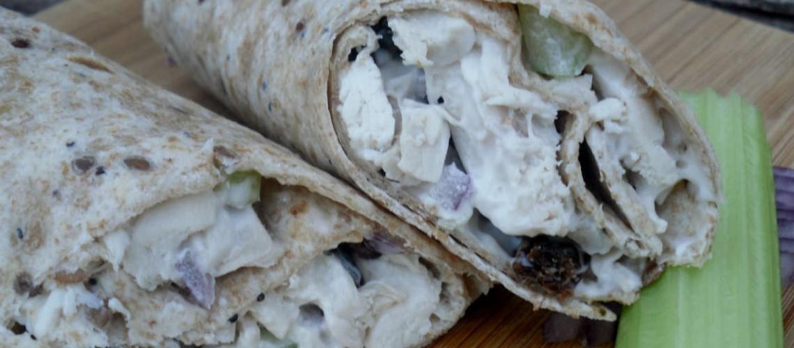 Chicken salad wraps-1