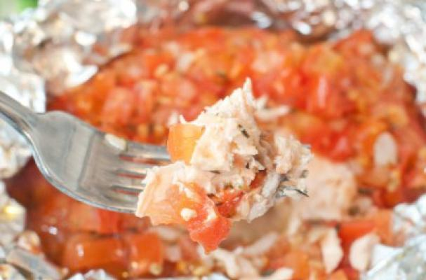 natural bodybuilding recipes-easy salmon in foil