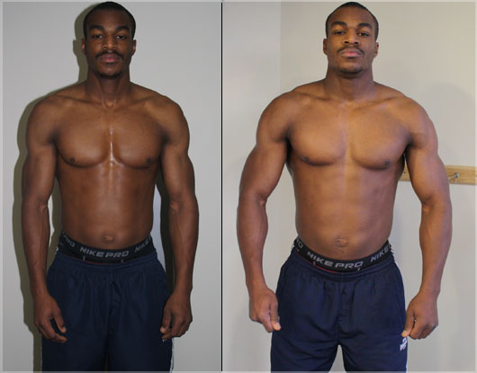 Natural Bodybuilding Results