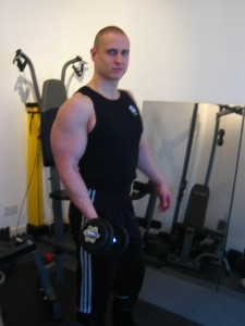 arms hypertrophy personal trainer